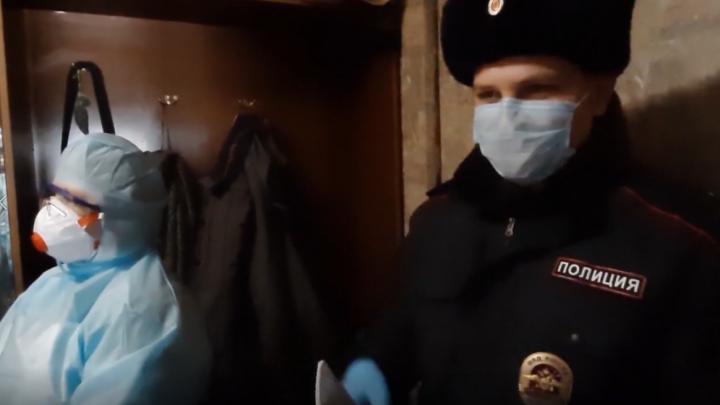Полицейские отправили двоих нижегородцев с подозрением на коронавирус в больницу по решению суда