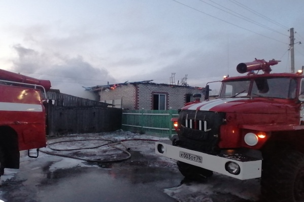Пожар в Пласте начался рано утром 15 ноября