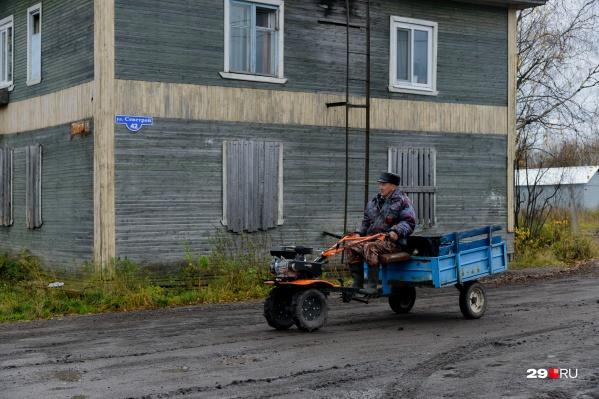 Городская среда в Цигломени явно нуждается как минимум в обустройстве нормальных дорог
