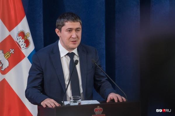 Дмитрий Махонин рассказал о главных проектах в крае