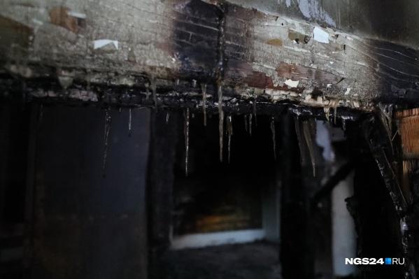 Ущерб от поджога составил почти 100 тысяч рублей