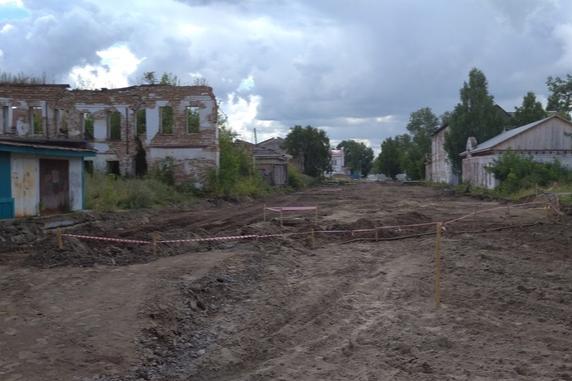 Археологи забили тревогу, когда увидели, как идут строительные работы в исторической части Тобольска