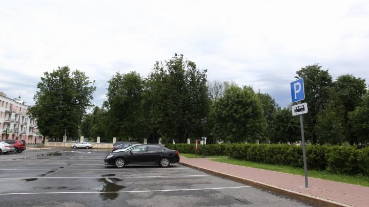 В Ярославле гаишники будут штрафовать паркующихся не на своём месте водителей легковушек