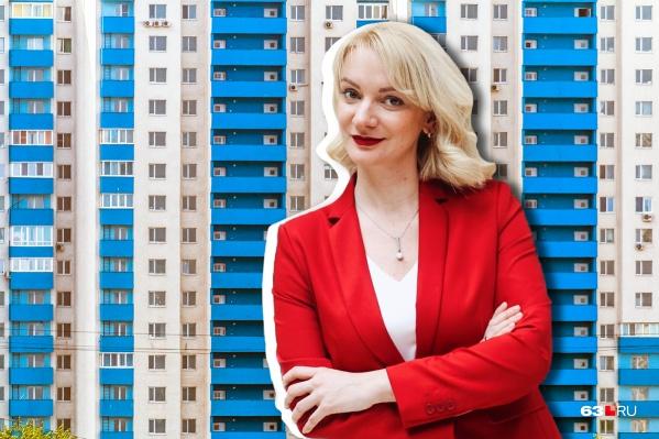 Полина Абдулова — исполнительный директор агентства недвижимости ГК «Визит»