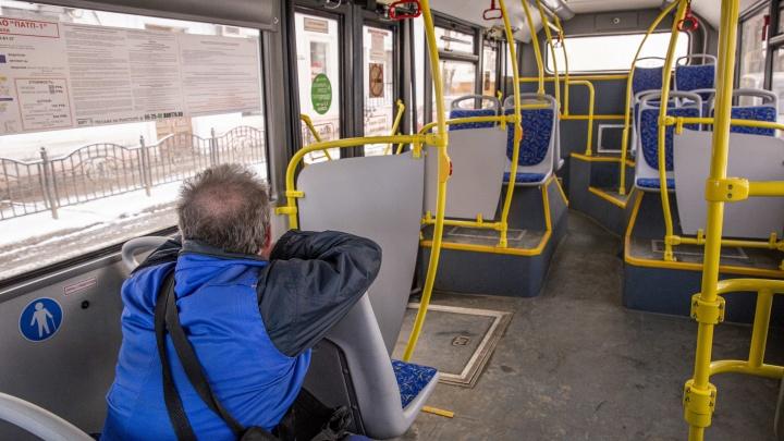 «Третий день катаемся в одиночестве»: в Ярославле в одночасье опустели троллейбусы и маршрутки