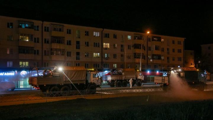 Стало известно, какие улицы Уфы продезинфицируют от коронавируса сегодня ночью