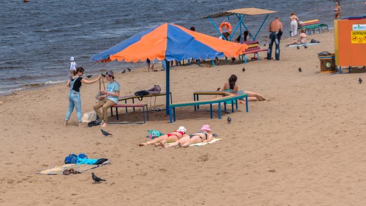 Завезут песок и диваны-качели: в Самаре начали благоустраивать городские пляжи