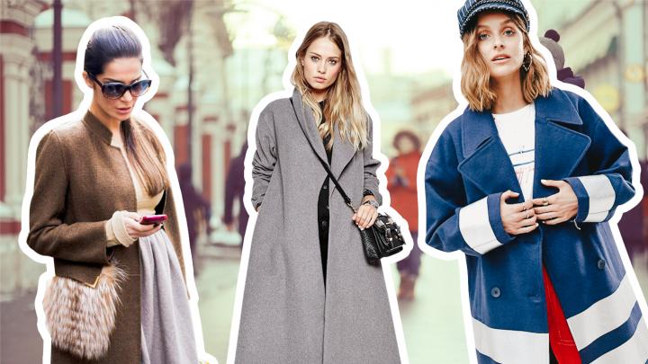Самое то: выбираем пальто по типу фигуры (для объемных бедер подойдут модели с нагрудными карманами)