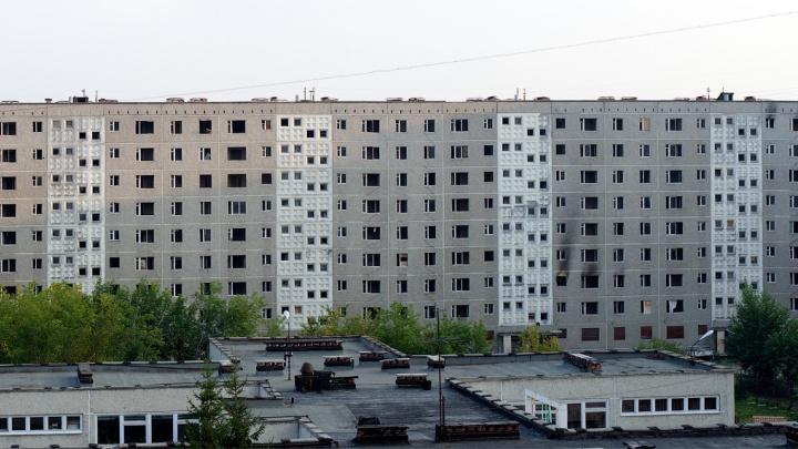 На месте девятиэтажки с трещиной на Вторчермете опять построят дом. Обещают, что он не развалится