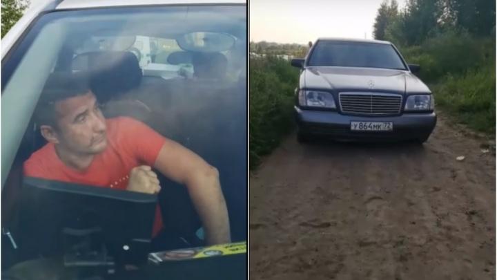 Тюменцы задержали пьяного водителя, который хвастался, что его жена работает в администрации