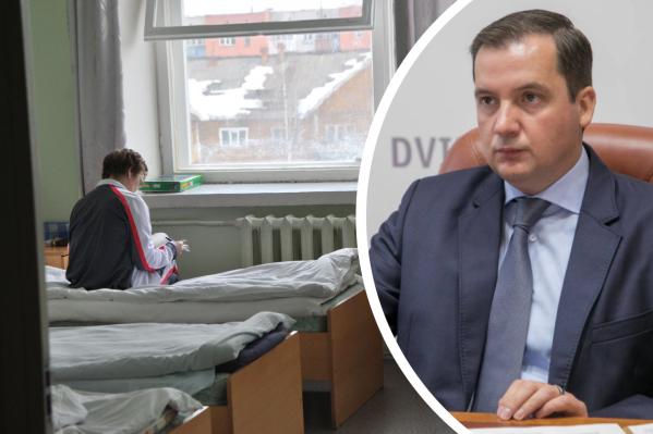 По словам губернатора, стоимость номеров в будущем отеле будет фиксированной именно для тех, кто приезжает лечиться