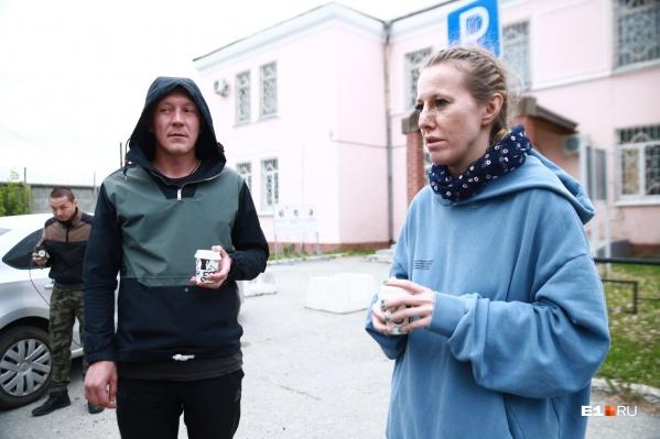 Ксения Собчак рассказала, кто стоит за отцом Сергием