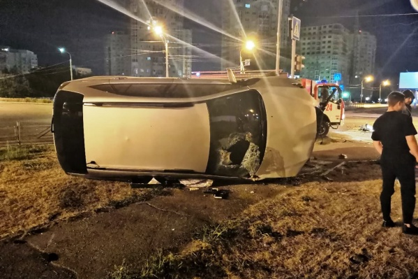 Водитель «Лексуса» в аварии не пострадал