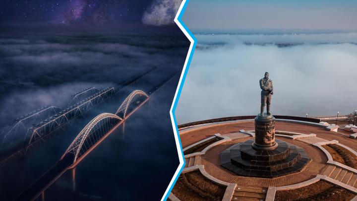 Лучшие фото этой недели: космический Нижний и Чкалов «в своей стихии»