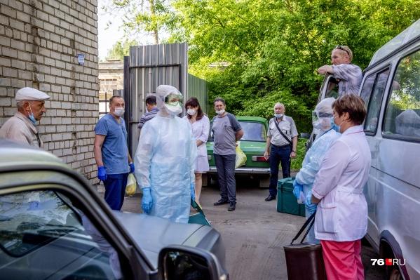 В лабораториях Ярославской области ввели лимит на приём анализов для тестов на коронавирус