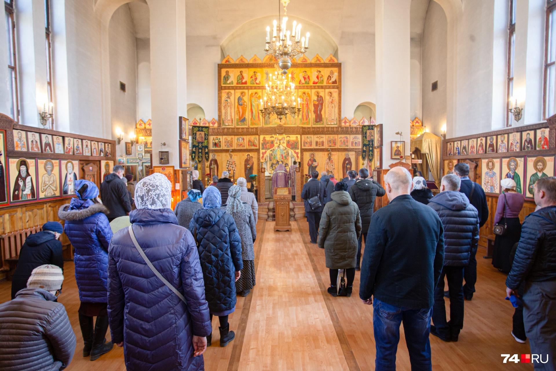 Храм в честь святителя Василия Великого
