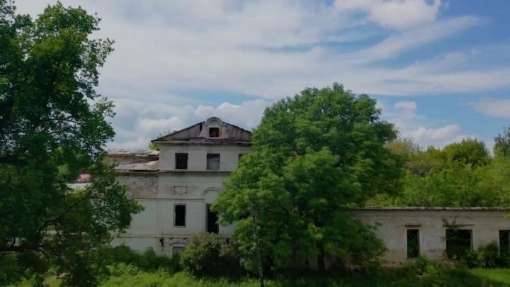 Блогер снял усадьбу Орловых-Давыдовых в Самарской области