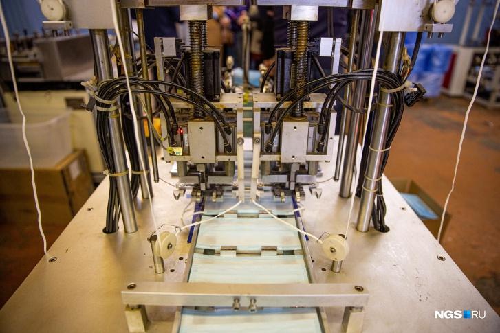 Оборудование для производства масок делают в Китае, Тайване и Турции
