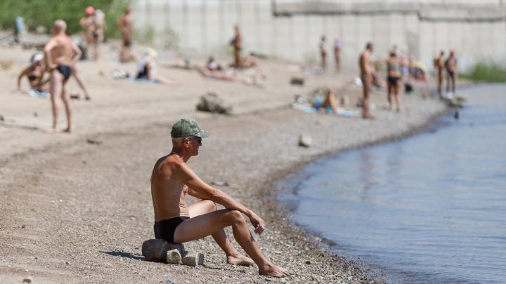 В Волгограде официально объявили о старте купального сезона