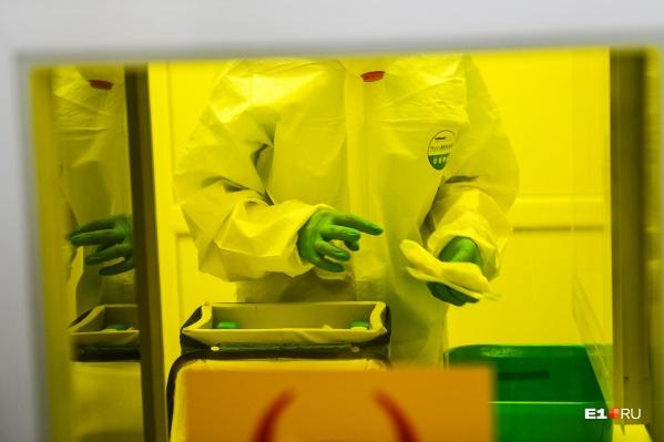 Официально диагноз «новая коронавирусная инфекция» подтверждён в Свердловской области уже у 5184 человек
