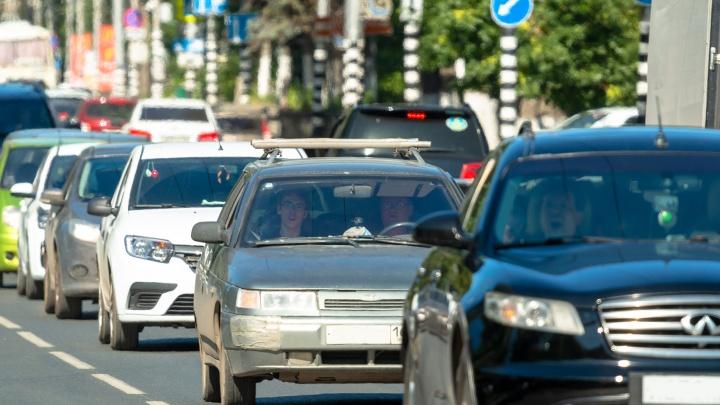 В региональном МЧС объяснили пробки в районе Яицкого