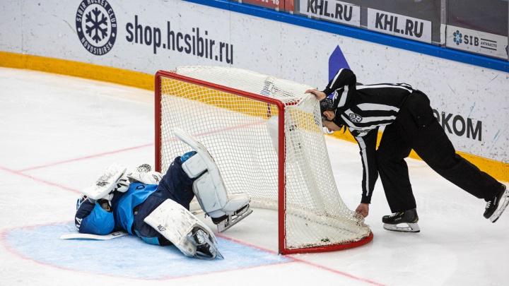 ХК «Сибирь» проиграл московскому ЦСКА в первом домашнем матче