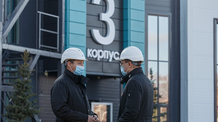 Власти рассказали, кому найдется место в палатах нового инфекционного центра под Челябинском