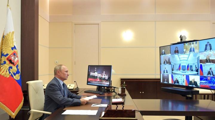 Путин сегодня в прямом эфире обсудит сроки снятия ограничений по коронавирусу