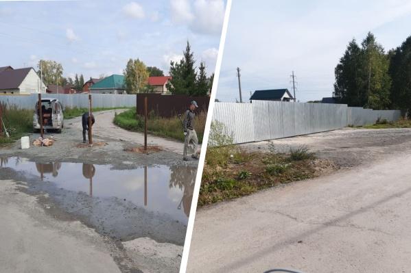 Два соседних ТСН на ОбьГЭСе не поделили между собой дорогу