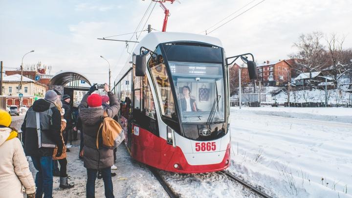 В Перми подсчитают, сколько горожан ездит на трамваях