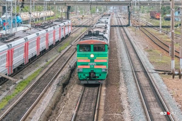Происшествие с электровозом случилось на перегоне Сызрань— Кашпир