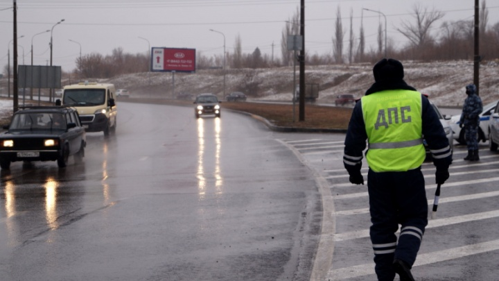 Тотальные проверки на дорогах до конца недели охватят всю Волгоградскую область