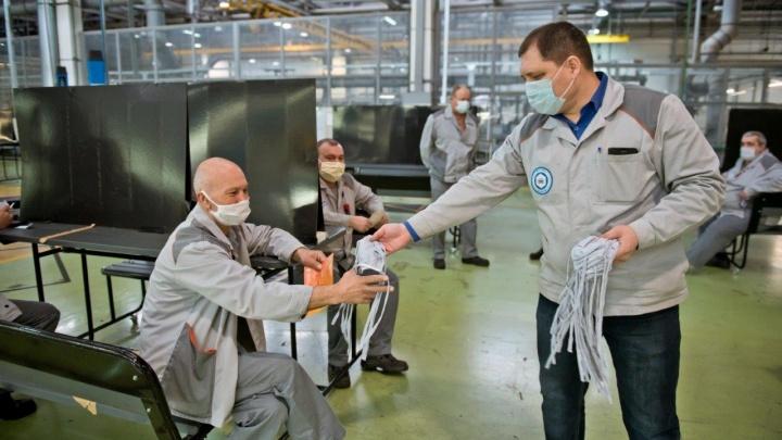 На АВТОВАЗ запретили пускать работников без масок