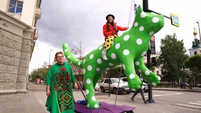 Детский карнавал прошел онлайн. Фоторепортаж