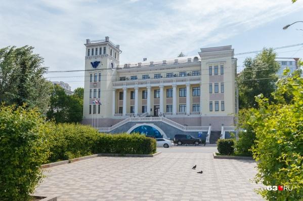 Штаб-квартира «Волготанкера» на Максима Горького