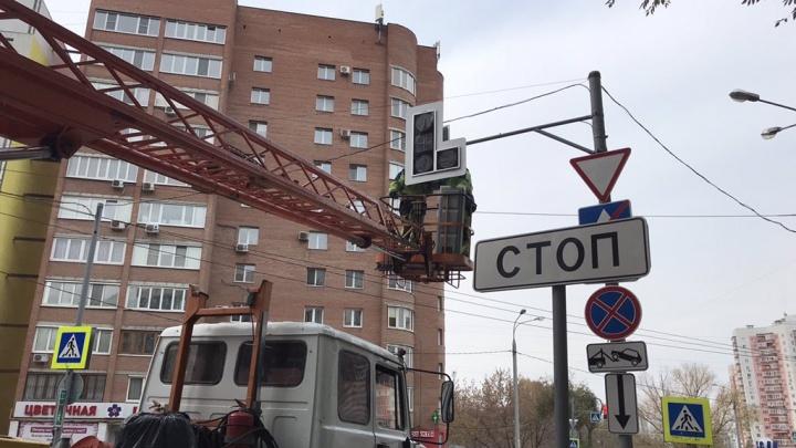 В Самаре разделили потоки транспорта на улице XXII Партсъезда