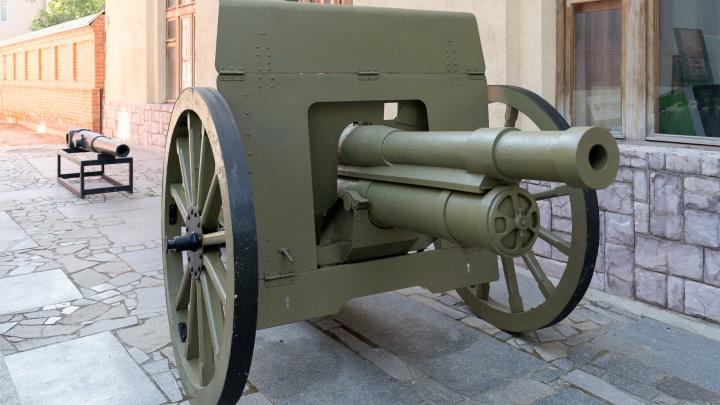 «Историю можно потрогать руками»: в мемориально-историческом музее Волгограда появилась пушка-«трёхдюймовка»