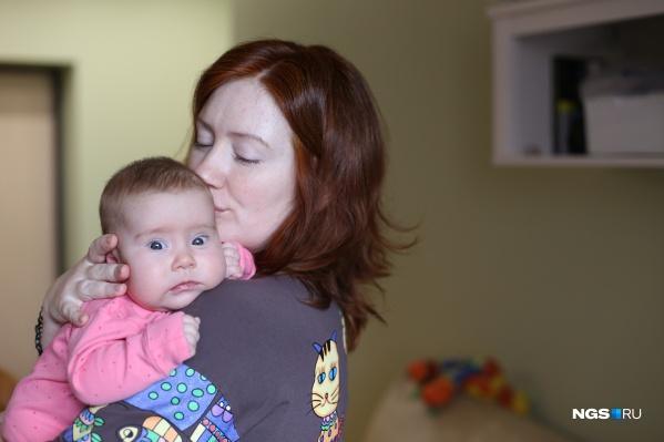 София и её мама Анастасия