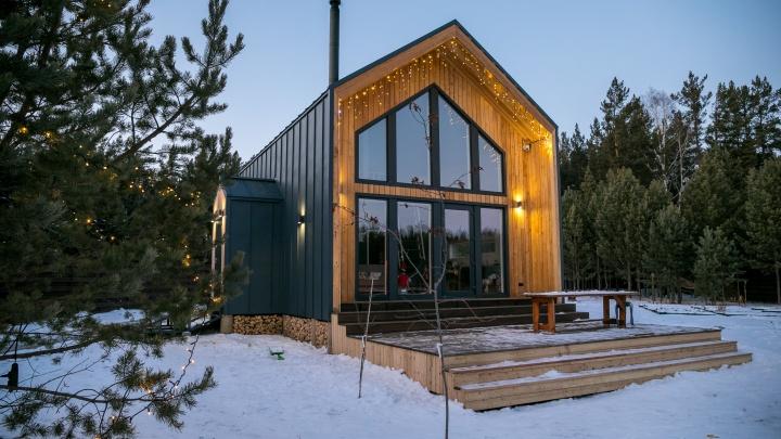 Хюгге по-сибирски: семья построила удивительный дом в скандинавском стиле по цене красноярской «двушки»