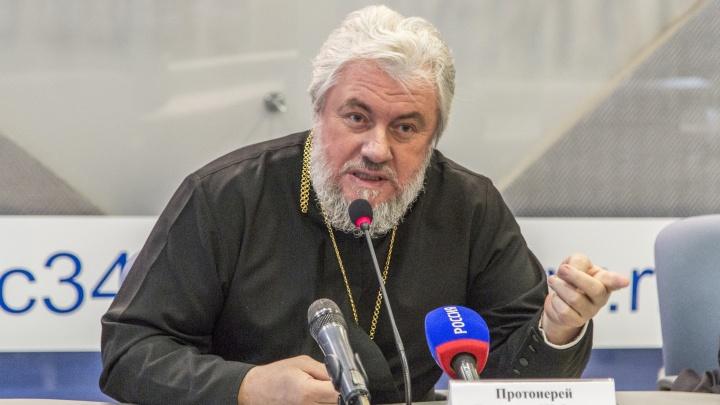 «Он стабильно тяжелый»: настоятель Казанского собора в Волгограде попал в реанимацию ковидного госпиталя