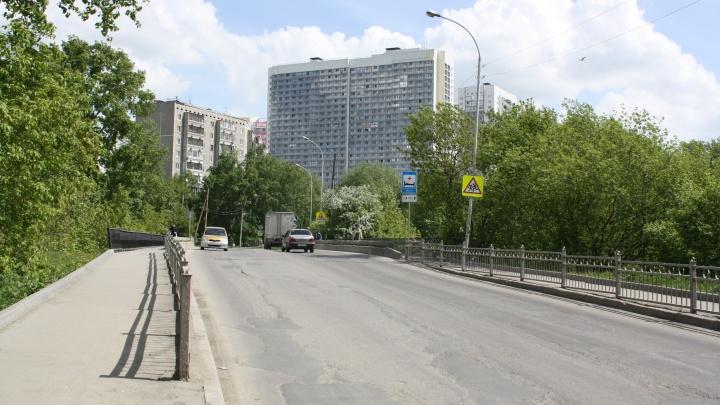 На Уктусе в негодность пришел мост, по которому жители микрорайона ездят в сторону центра