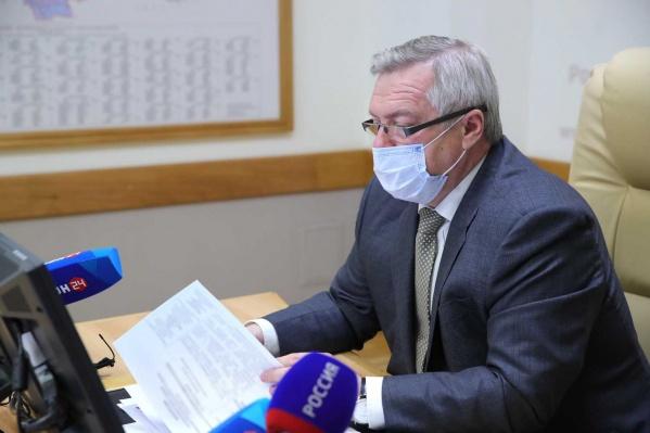 По словам Голубева, в донских больницах с 1 апреля и по 23 ноября проведена 1051 проверка