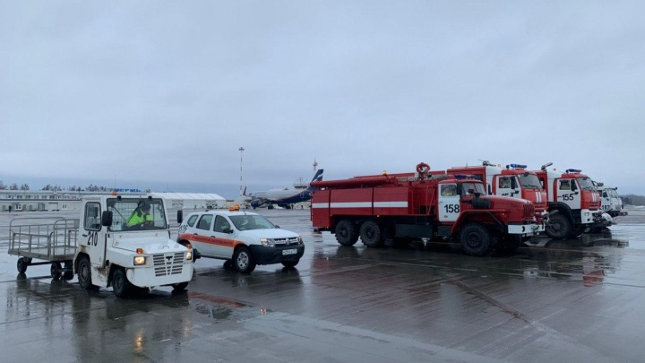 Самолет рейса Новосибирск — Москва экстренно сел в Перми из-за сообщения о минировании. Что известно о ЧП