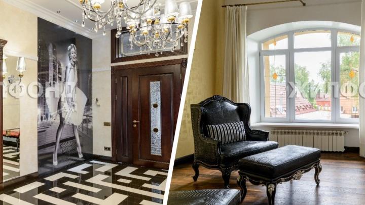 В Новосибирске продают роскошный особняк с круглой кроватью — 13 снимков жилья за 79 миллионов