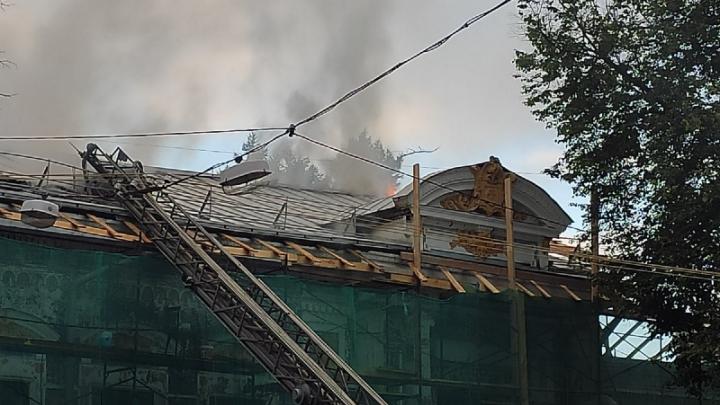 Нижегородцев попросили помочь восстановить Литературный музей Горького после пожара