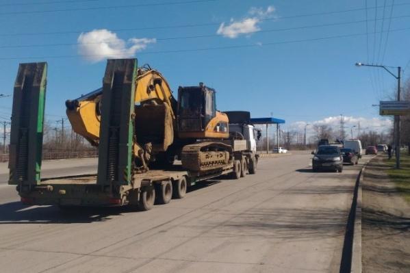 Тяжелые грузовики буду взвешивать на въезде в город
