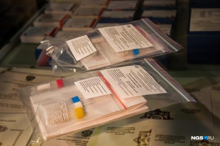 Так выглядят два тест-набора, которые позволяют диагностировать коронавирус