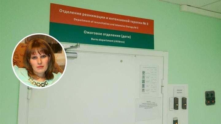 «Не разгибаются руки»: сгоревший на прогулке ребенок из Волгоградской области ждет новой операции