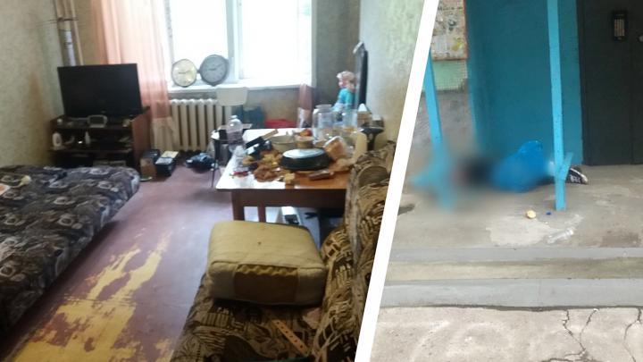 В Самаре около подъезда нашли расчлененное тело мужчины