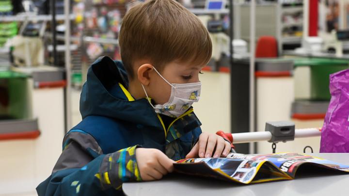 Масочный режим в Ярославской области: с какого возраста дети обязаны носить маски